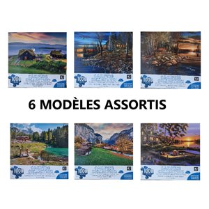 Casse-tête 1000 pcs Collection Camping
