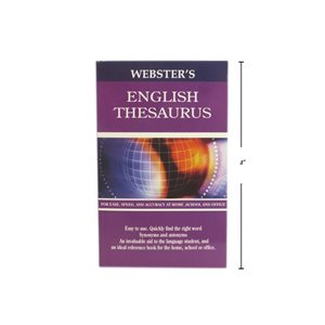 Dictionnaire Anglais Thesaurus Webster's * ##