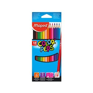 Crayon de couleur Emb de 12 Color'peps * 832047