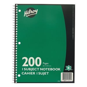 Cahier spiral Ligné 200 pages